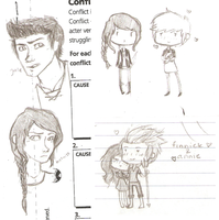 hunger games doodles 2 by silvershadowhdgehog