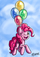 Balloon Ride by Nedemai