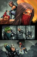 Executive Assistant: Assassins page by deffectx