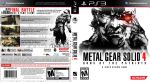 Custom Metal Gear Solid 4 boxart by maXVolnutt