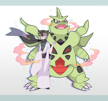 Uncle Grimsley by diamondandpear