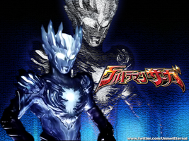 Ultraman Saga Wallpaper by FeitanPainPacker