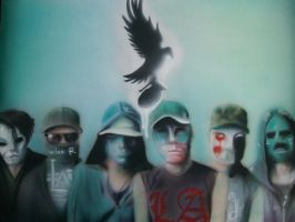 Hollywood undead by Mathius88
