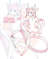 [ EMERGENGY Adopt] Glajele #2 + EXTRAS (CLOSED) by Graviilean