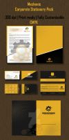 Mechanic Corporate Stationary Pack by ExtremeLogo