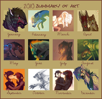 Summary of art 2010 by LiLaiRa