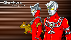 Ultraman Leo Desktop Wallpaper by sw-eden