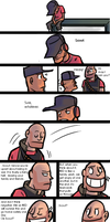 Tf2- Heavy's advice by RKPiratedrawer