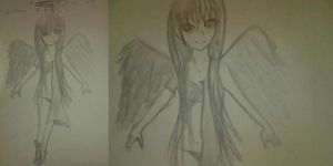 Angel of Good and Evil by Lord-Momo