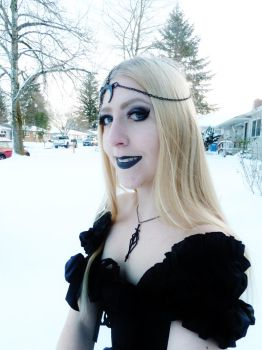 Goth Smile by Danika-Stock