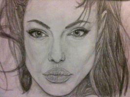 Angelina Jolie by bengray94