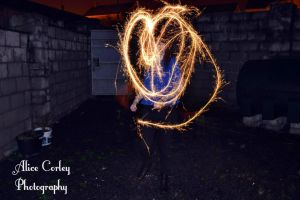 Sparklers by alicecorley