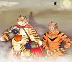 Halloween with Shane and Markus by Alanwakeup