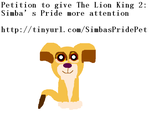 Petition to give The Lion King 2 more attention by MissILoveMovies