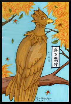 Kazekiri: Ochibagami, God of Autumn and Forests by Winds-Blade