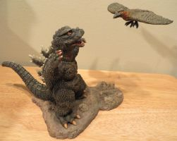 Just One More Image Godzilla 66 vs Condor by Legrandzilla