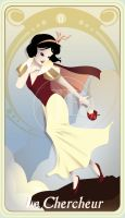 {The Princess Tarot} 'La Chercheur: Snow White' by suisei-ojii-sama