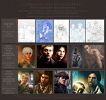 Commissions on Sale! by Guzzardi