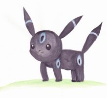 Shiny Umbreon by sminkle