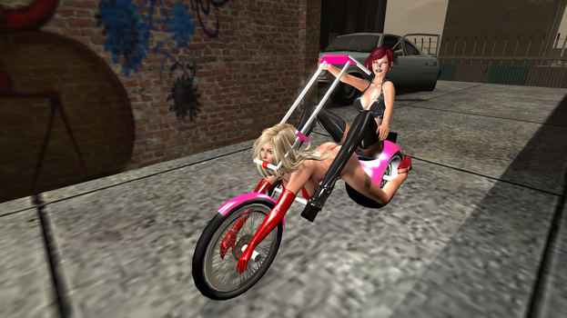 Super Michelle Peril - The Humiliator Super Bike 1 by Ultramichelle