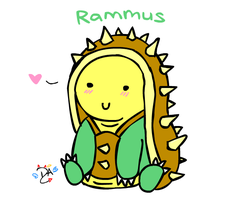 League of Legends - Rammus by dcheeky-angel