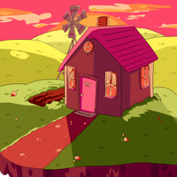 Small Country Home by vanilla-beanie