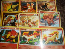 fire pokemon card ~set 2~-for sale/trade- by goddessofdragon