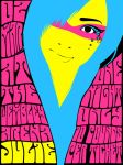 JULIE 60s Poster by JEYY
