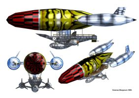 RayDream Airship by JamesMargerum