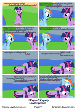 Magical Loyalty - New Perspectives Page 27 by WaveyWaves