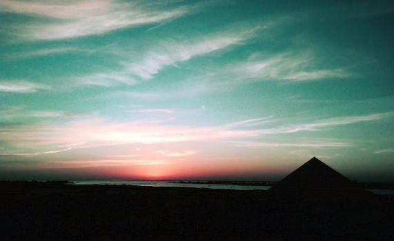Sunset Over Moody Gardens 4 by ErinM2000