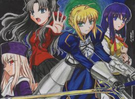 Fate Stay night by krow000666