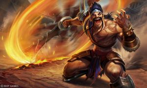 Gladiator Draven Splash by Yideth