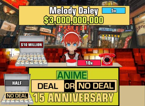 anime deal or no deal  season 15 anniversary  Epis by chess277