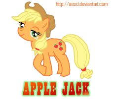 My Little Pony: Apple Jack by AESD