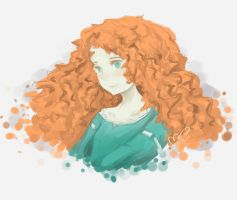 Princess Merida by chevalier16