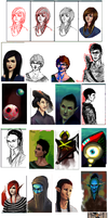 iScribble doodles 03 by Tavvi
