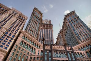 Mecca Clock Tower by bx