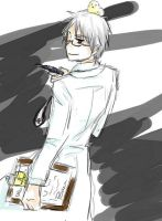 Prussia-sensei by Teacher-Prussia