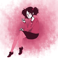 pink by Crazy--Bee