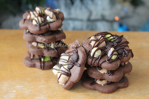 Chocolate nuts cookies 3 by kupenska