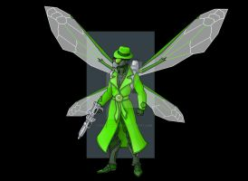 green hornet exorcist  -  commission by nightwing1975