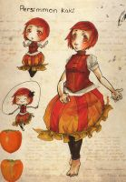 Persimmon by Chenille-Cerise
