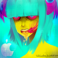 Apple by JadeLaunders