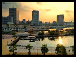 Yokohama Yellow Sky by Princess-Suki-W