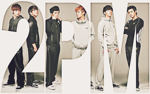 2PM Spris Wallpaper by KissOfDeathXxX