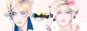 Rolling_ Key and Taemin by limit73er