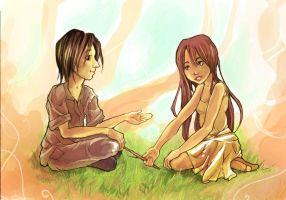 Snape and lily, memories... by syalice