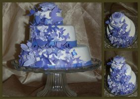 Butterfly Cake by JanJL
