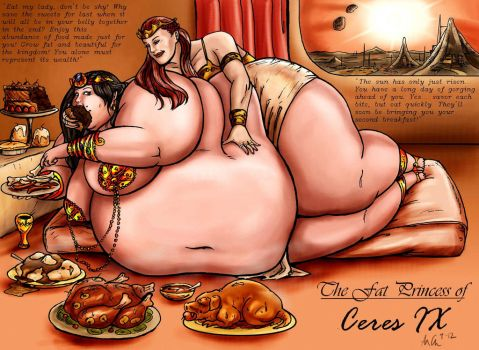 The Fat Princess of Ceres IX by Ray-Norr
